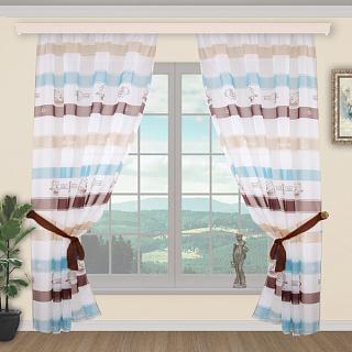 Шторы УЮТ цвет 312 Для спальни Цвет 312 | Готовые комплекты штор с красивым дизайном от производителя